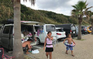 【車中泊旅 夏休み 太平洋沿岸ロードトリップ】A day 7 最終日もやっぱり海と波乗り伊良湖岬