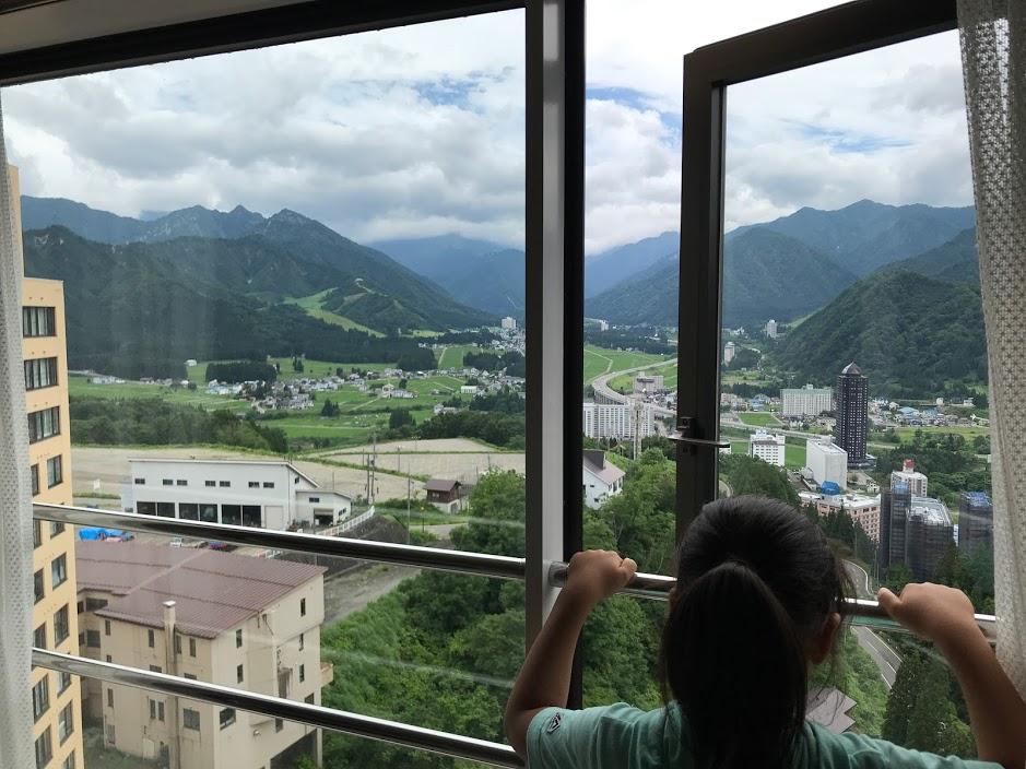 湯沢リゾートマンション1軒目:眺望が抜群!