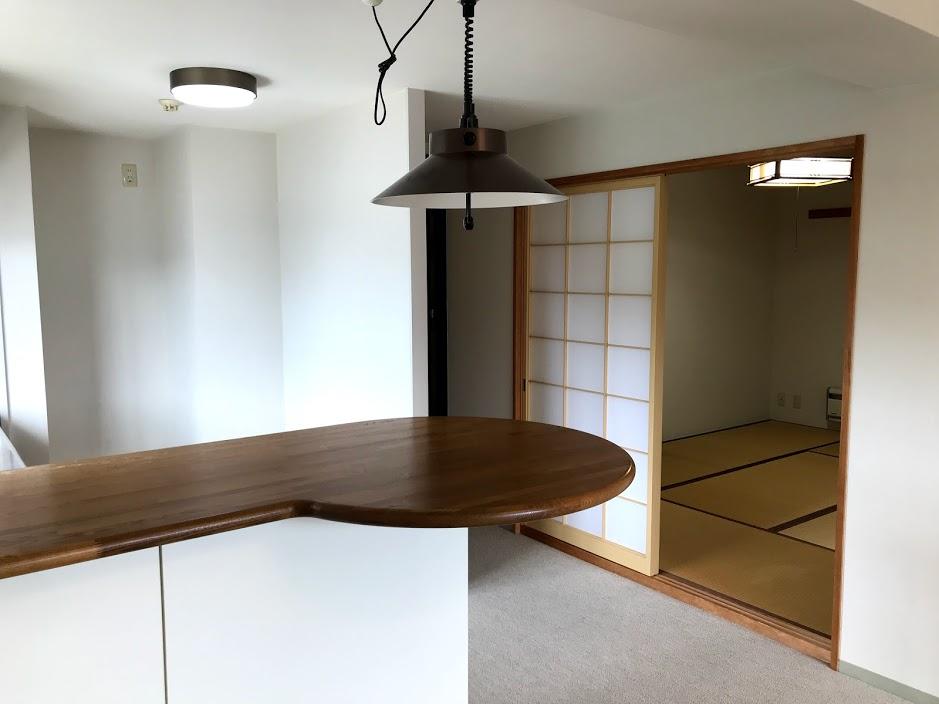 湯沢リゾートマンション1軒目:リビングに和室2つ