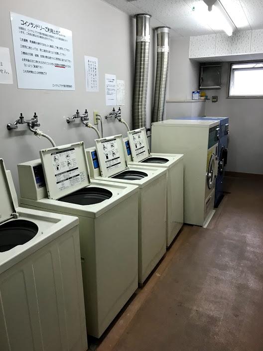 湯沢リゾートマンション2軒目:コインランドリー完備