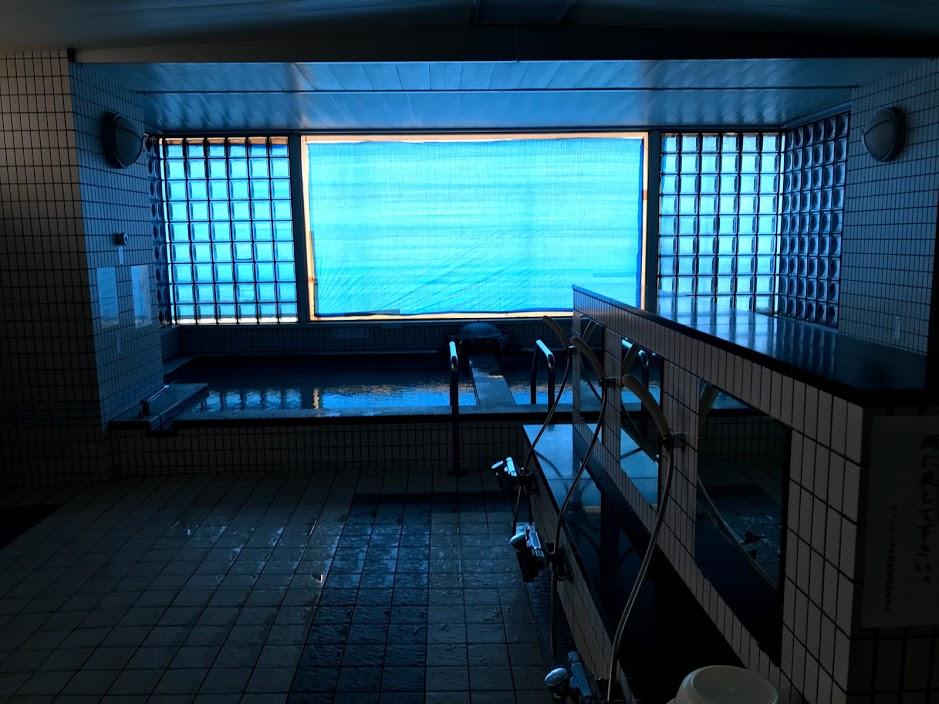 湯沢リゾートマンション2軒目:大浴場