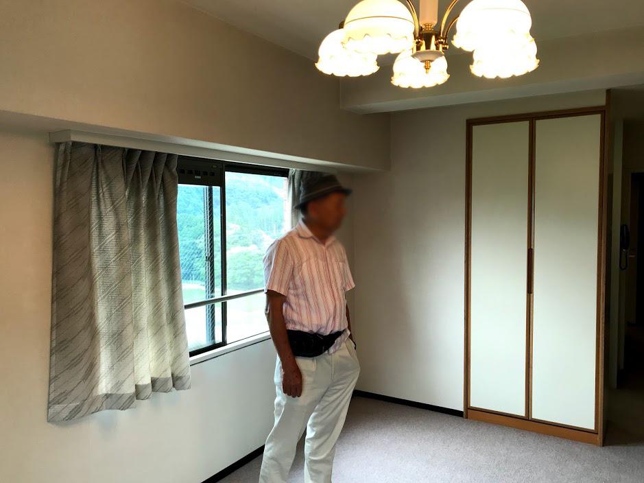 湯沢リゾートマンション4軒目:リビング
