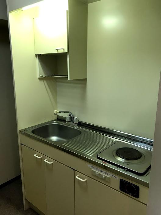 湯沢リゾートマンション4軒目:キッチン