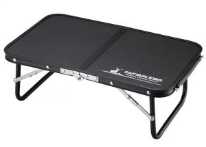 キャプテンスタッグ テーブル コンパクト FDハンドテーブル47×30cm ブラック UC-546