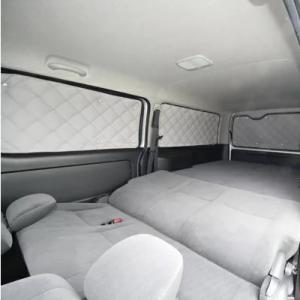 ハイエース 200系 IV型・V型 ワイド ロング5ドア(セカンド固定窓) [H26.01~] マルチシェード・シルバー リア5枚セット
