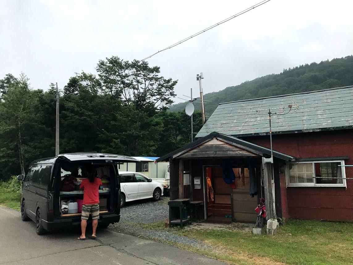 北海道一周車中泊の旅 2日目 南富良野