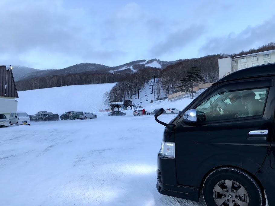 東北のスキー場は夜間トイレが使えない