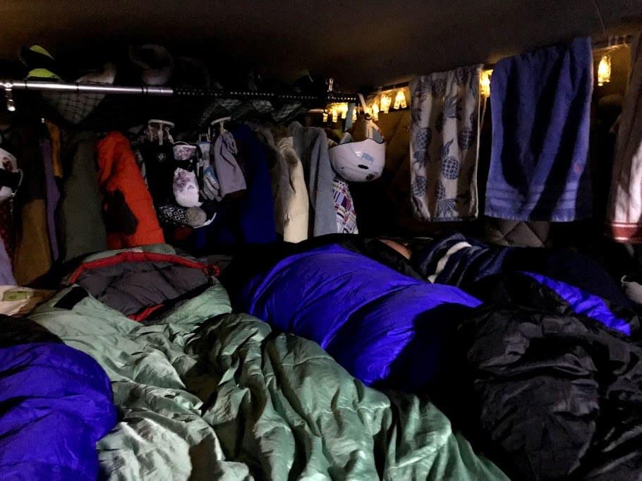 冬の車中泊 防寒対策2.体の保温をしっかり行う