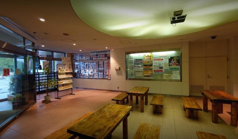 湯沢道路ステーション 「道しるべ湯沢」の休憩所
