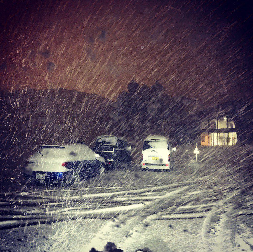「夏油高原スキー場」の駐車場・混み具合