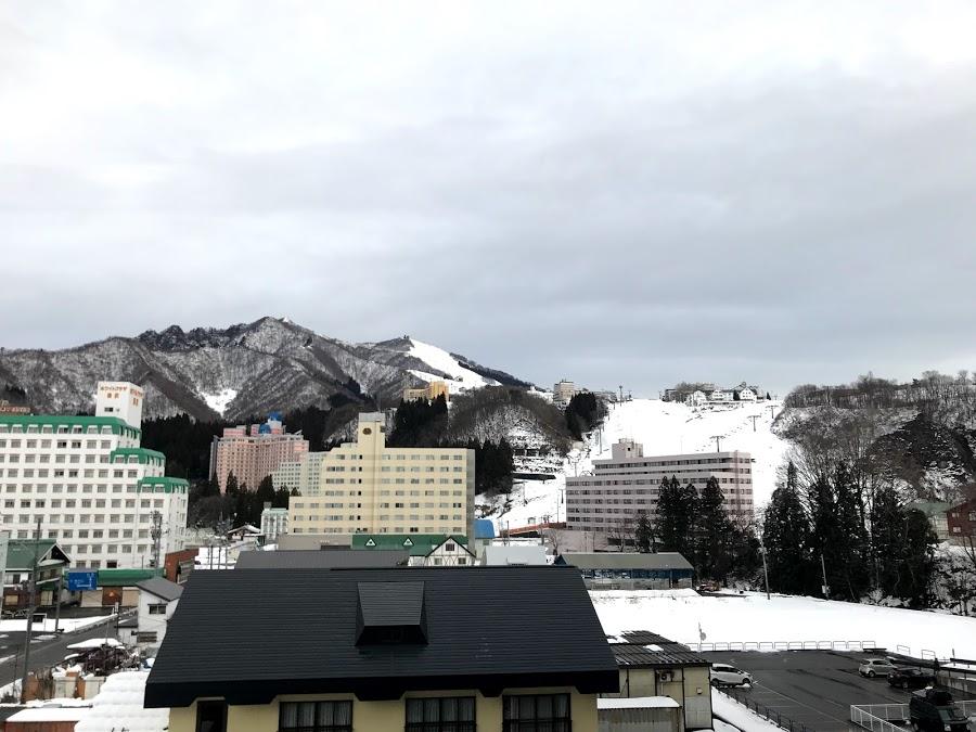 2020年1月8日(水)新潟県湯沢町 岩原スキー場の様子