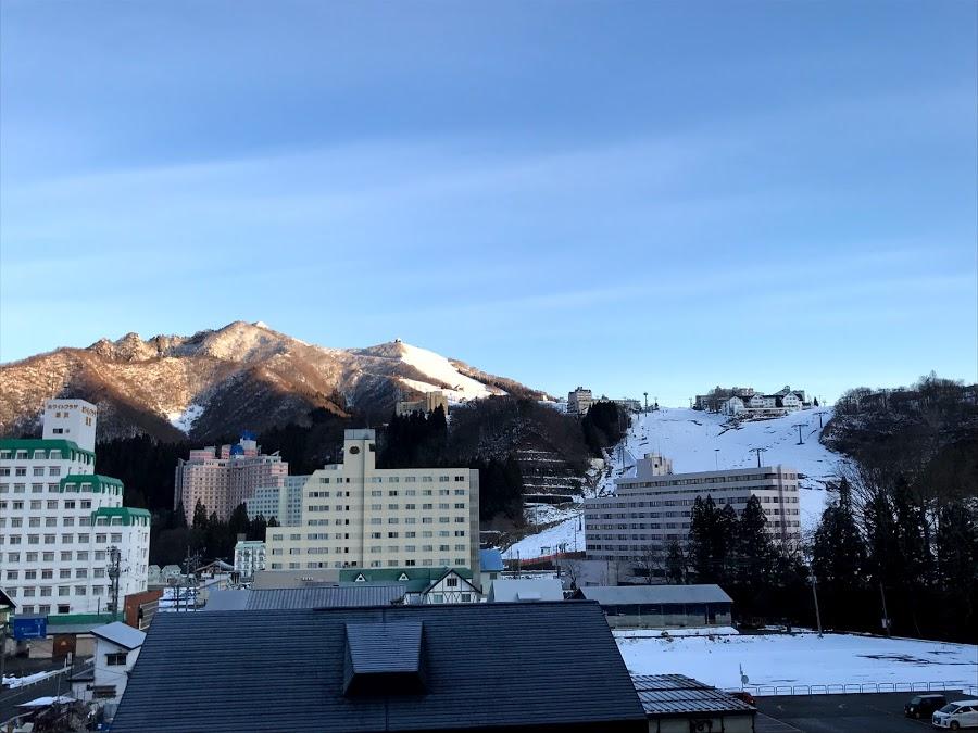 2020年1月11日(金)新潟県湯沢町 岩原スキー場の様子