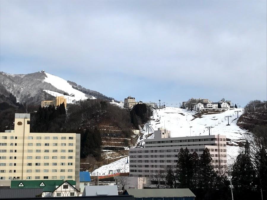2020年1月12日(日)新潟県湯沢町 岩原スキー場の様子