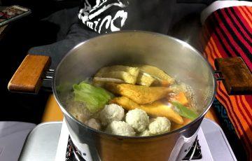 【車中飯】冬の車中泊におすすめ、ごはんは簡単&温まる鍋で決まり!