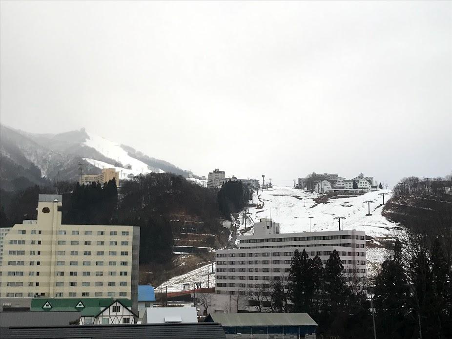 岩原スキー場 1月15日 第一ペアリフト