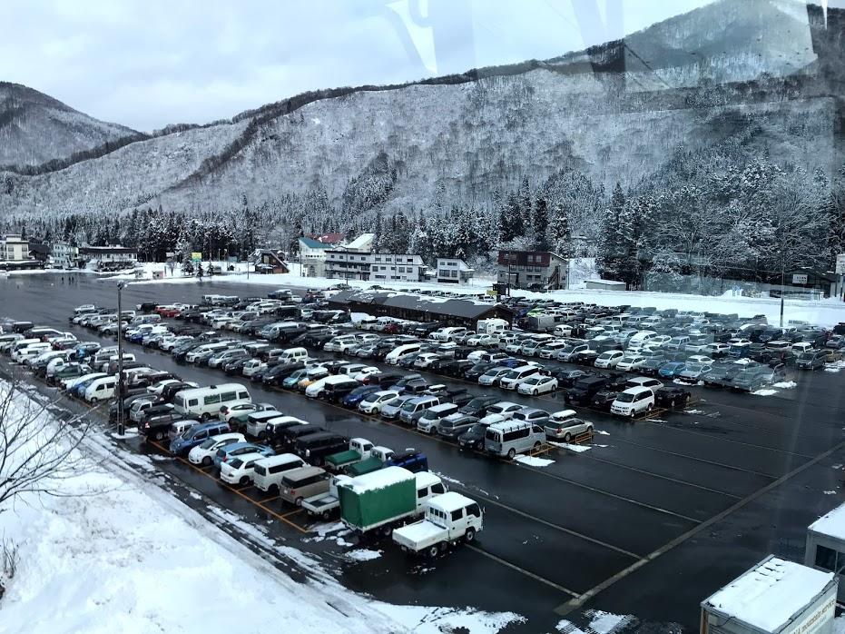 かぐらスキー場(田代エリア含む)が車中泊禁止