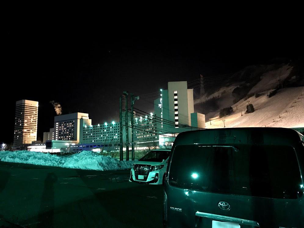 湯沢の苗場スキー場は車中泊できる?