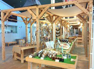 「道の駅FARMUS木島平」の売店