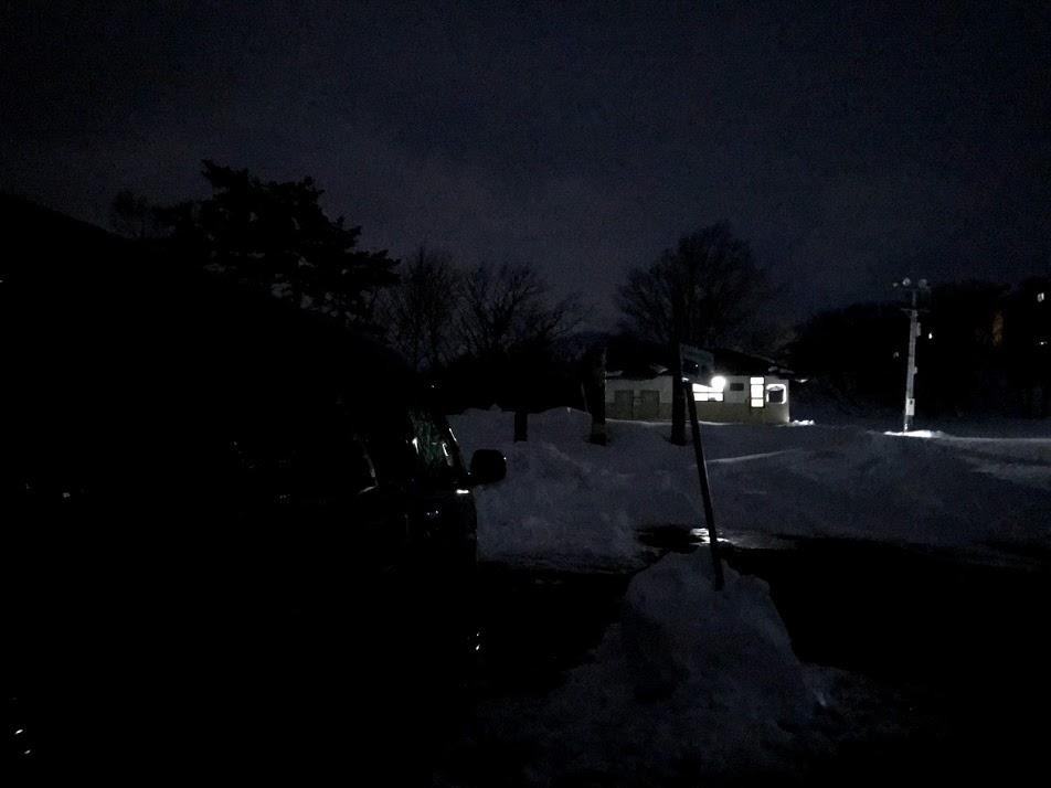 車中泊可能な斑尾スキー場駐車場