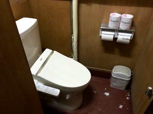斑尾スキー場 第七駐車場 トイレ、洗面などの設備