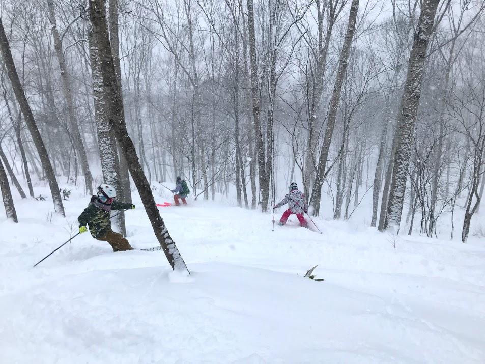 何よりもスキーが見違えるほど上達
