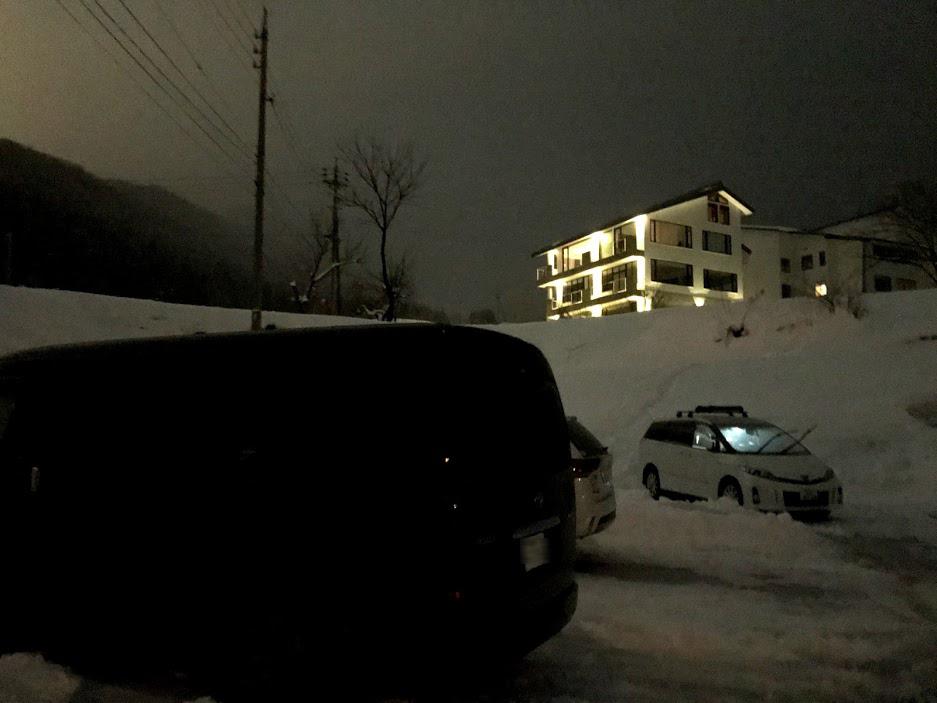 スキー場駐車場を利用する(冬季のみ)