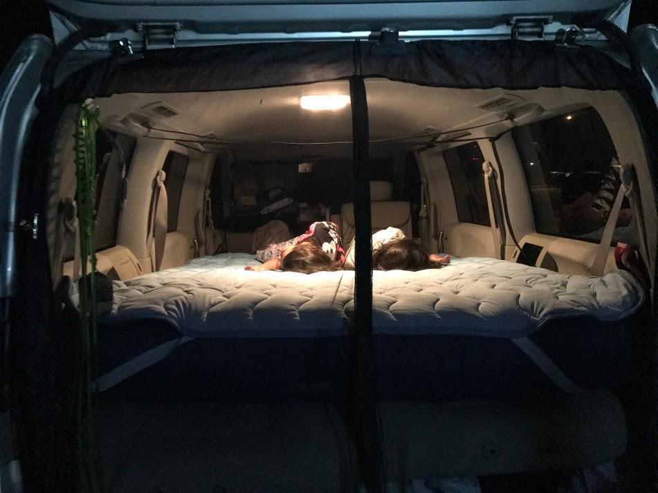 車中泊は快適な寝心地が命