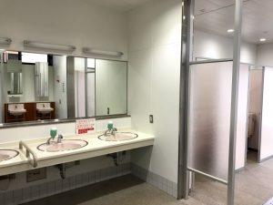 「道の駅南魚沼雪あかり」のトイレ・洗面などの設備