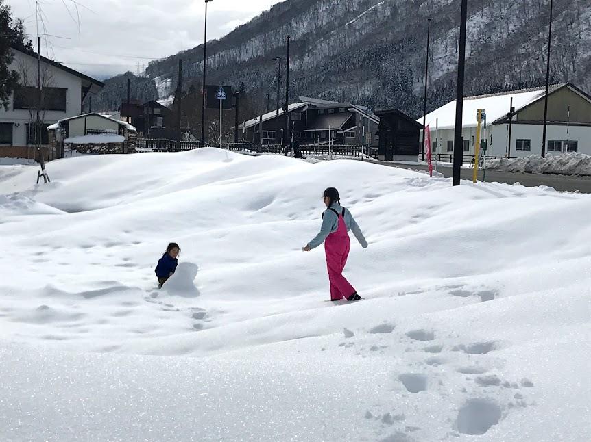 【家族で冬だけ二拠点生活】子供達の日常