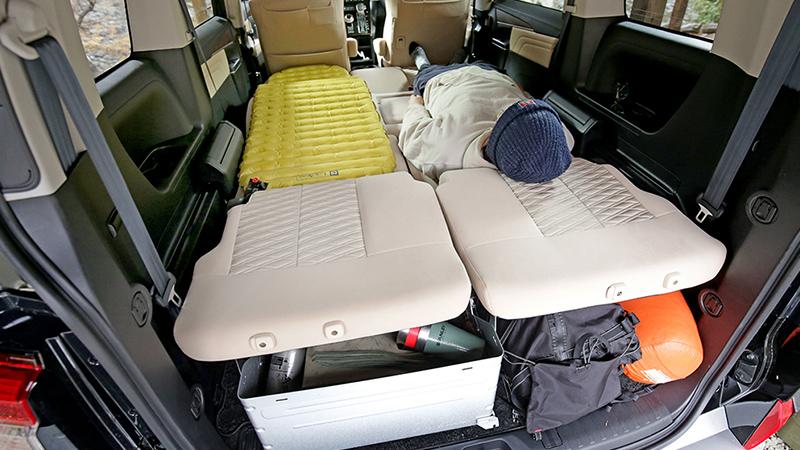車中泊に適した車種:三菱デリカ D:5