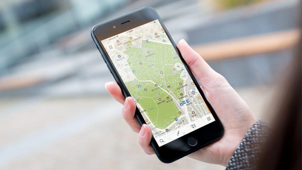Google Mapで検索する
