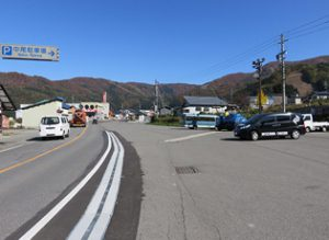 野沢温泉スキー場 中尾駐車場