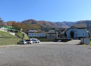 野沢温泉スキー場 横楽駐車場