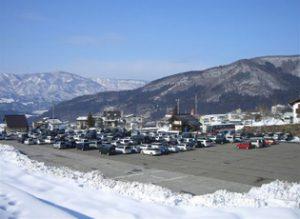 野沢温泉スキー場 第3駐車場