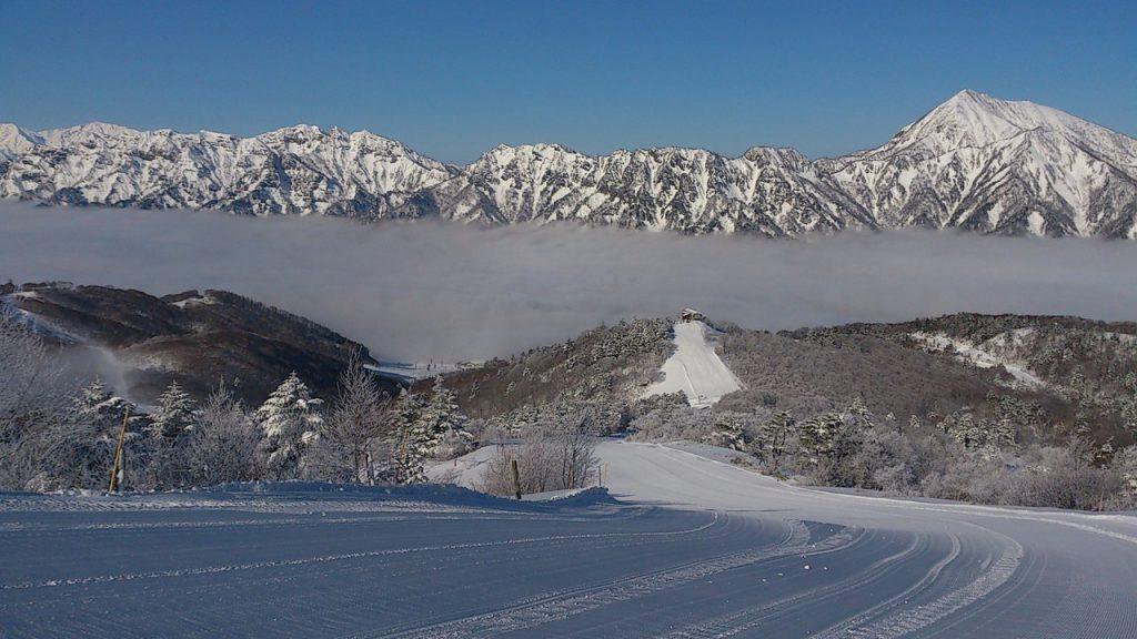 戸隠スキー場の絶景