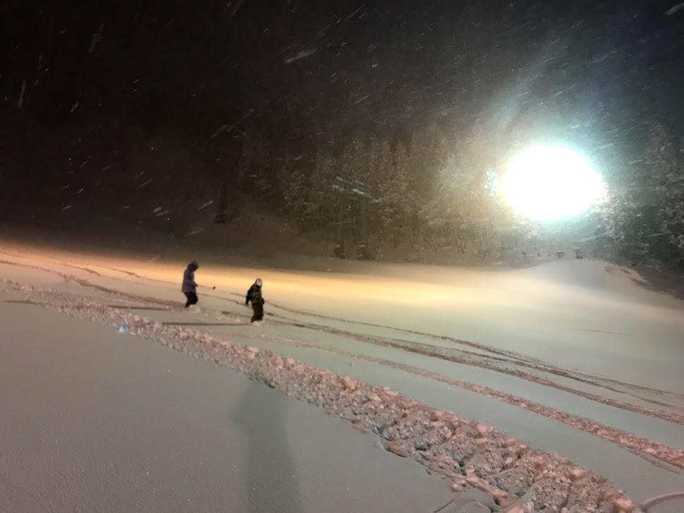 2020年2月6日 苗場スキー場ナイター