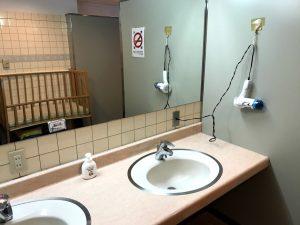 戸隠スキー場 第2駐車場近く「ゲストハウス岩戸」のトイレ
