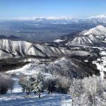 【スキー場車中泊の旅】長野の北志賀竜王スキーパークの木落コースに子供も挑戦!