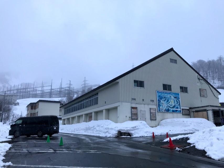 奥只見丸山スキー場 第1駐車場