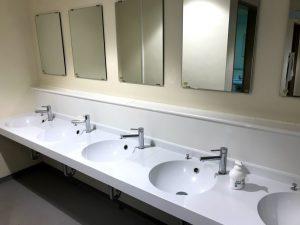 奥只見丸山スキー場 緑の学園 トイレ・洗面