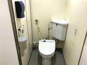 奥只見スキー場 車中泊 緑の学園 トイレ・洗面