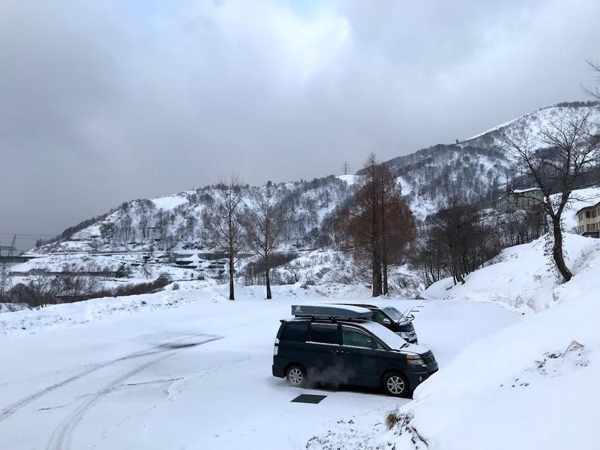 奥只見丸山スキー場 第二駐車場
