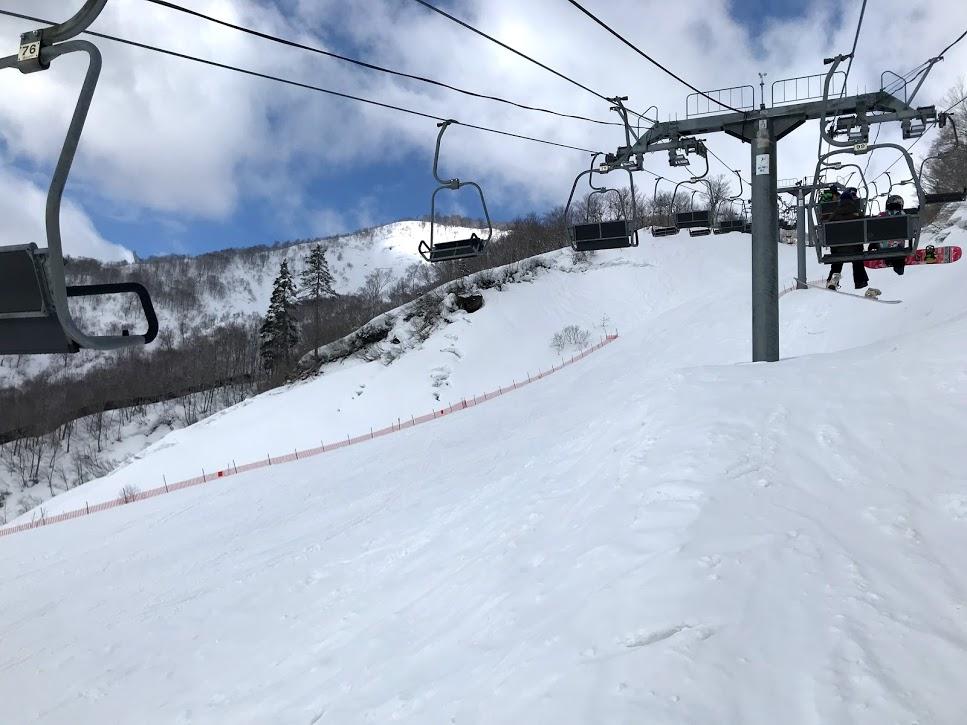 奥只見スキー場 八崎ゲレンデリフト