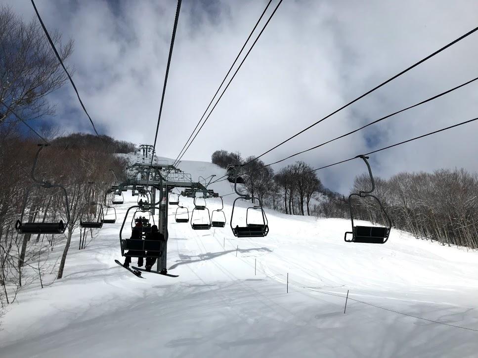 奥只見丸山スキー場 第二ペアパラリフト