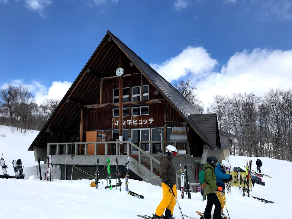 奥只見丸山スキー場 ブナ平フュッテ