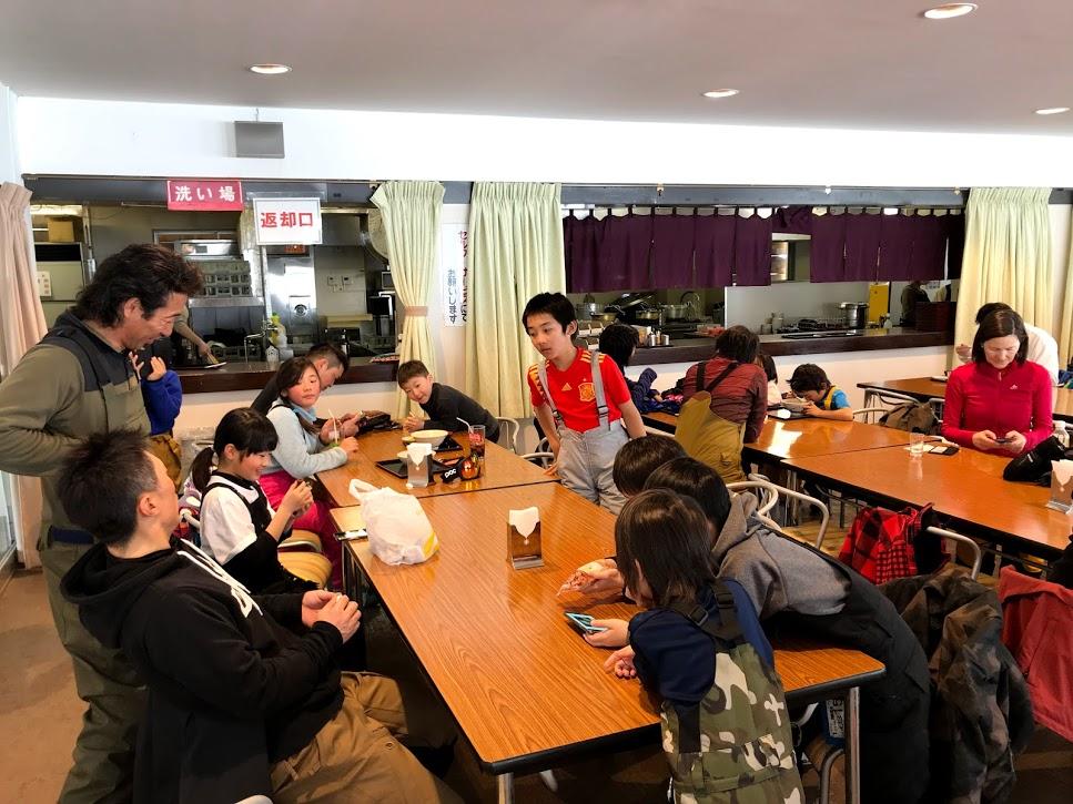 奥只見丸山スキー場 緑の学園 ゲレンデ大食堂