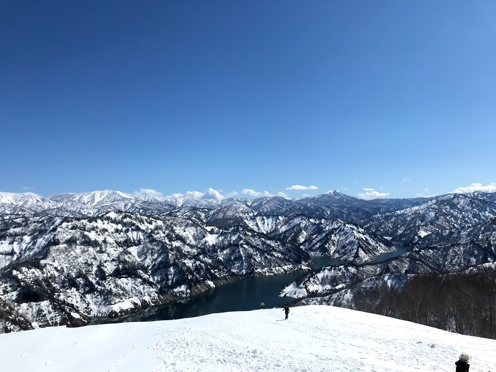 奥只見丸山スキー場 山頂