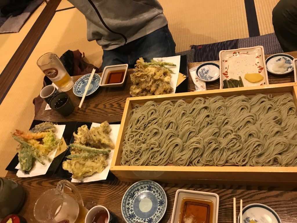 湯沢はとにかく食べ物が美味しい