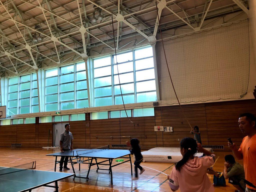 北海道一周車中泊旅3日目:南富良野町の体育館を貸切