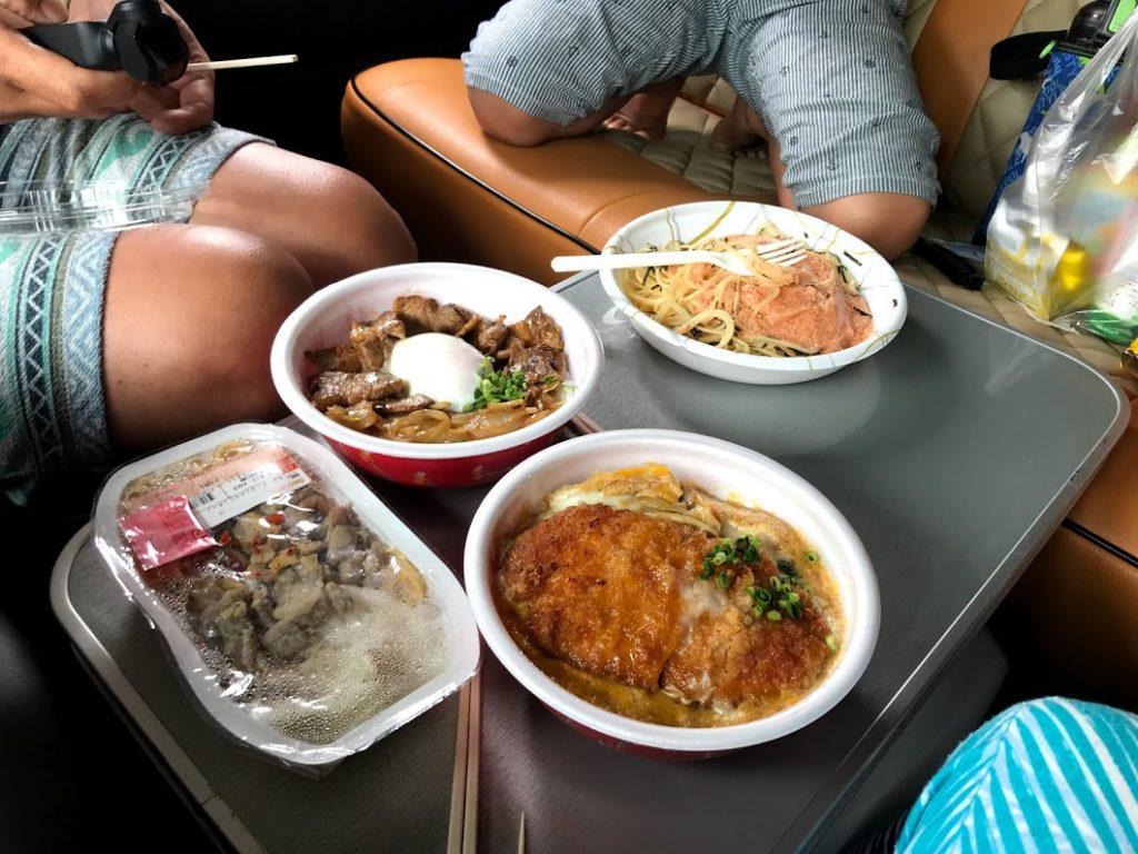 北海道一周車中泊旅:セイコーマートのお弁当はランチにオススメ